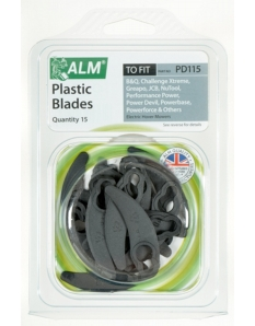 ALM Plastic Blades Pack of 15
