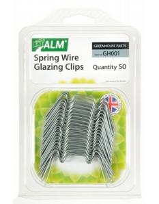 ALM Spring Wire Glazing Clips Pack of 50