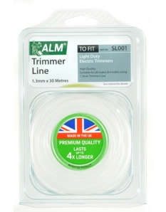 ALM Trimmer Line - White 1.3mm x 30m
