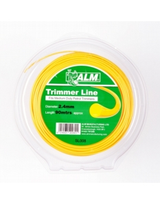 ALM Trimmer Line - Yellow 2.4mm x 90m