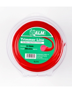 ALM Trimmer Line -  Red 3.0mm x 1/2kg approx 55m