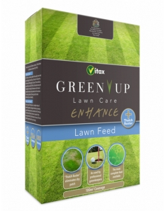 Vitax Green Up Lawn Care Enhance Lawn Feed 100sqm