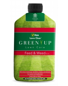 Vitax Green Up Lawn Care Feed & Weed 100sqm