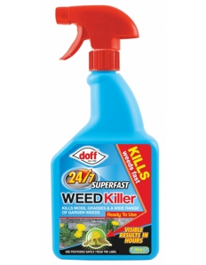 Doff Fast Acting 24 hour Weedkiller 1L