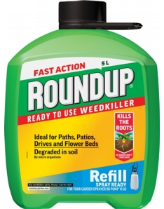 Roundup Fast Acting Pump N Go Refill 5L