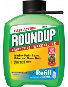 Roundup Fast Acting Mini Refill 2.5L
