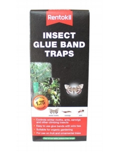 Rentokil Insect Glue Band Traps 1.75m