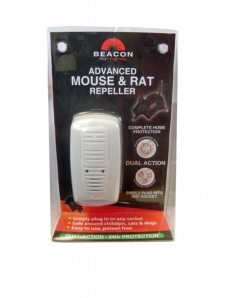 Rentokil Advanced Mouse & Rat Repeller - Dual Action Single Unit