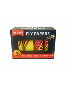 Rentokil Fly Papers Four Pack