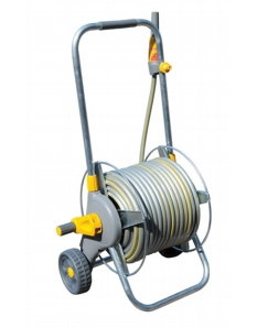 Hozelock Metal Hose Cart With 30m Hose
