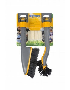 Hozelock Car Brush Twin Pack