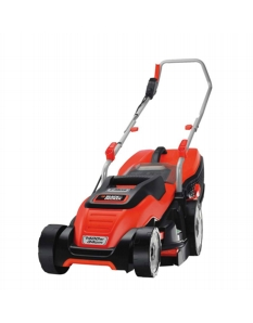 Black+Decker 1400w Rotary Mower 34cm