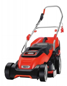 Black & Decker 1600w Rotary Mower 38cm