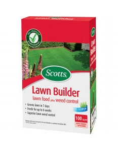 Scotts Lawn Builder Lawn Food plus Weed Control Carton