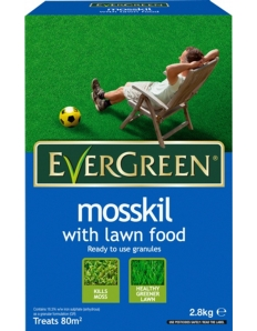 Miracle-Gro Evergreen Mosskill With Lawn Food 80m2