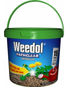 Weedol Pathclear Weedkiller 18 Tubes
