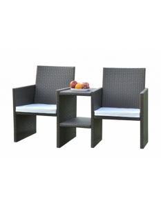 SupaGarden Rattan Companion Set