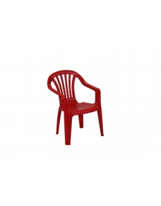 SupaGarden Plastic Childs Chair Red