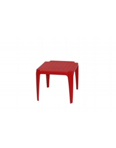SupaGarden Plastic Childs Table Red