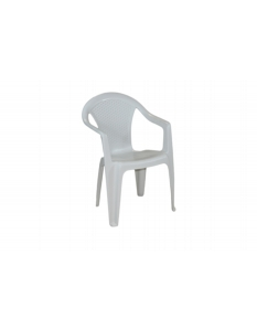 SupaGarden Plastic Chair White
