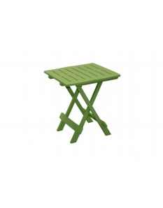 SupaGarden Plastic Folding Camping Table Green