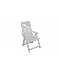 SupaGarden Multi Position Armchair White