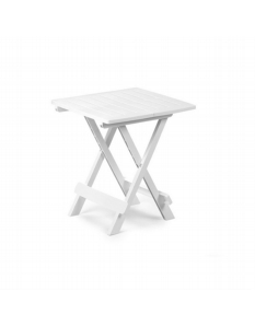 SupaGarden Plastic Folding Camping Table White