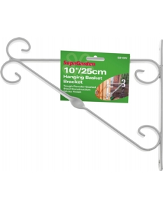 SupaGarden Hanging Basket Bracket 25cm/10