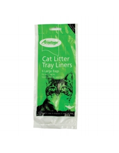 Armitage Good Girl Cat Litter Liners Green Large 6 Pack