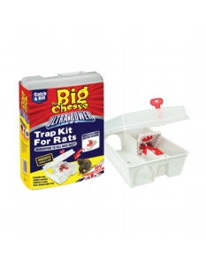 The Big Cheese Ultra Power Rat Trap Kit