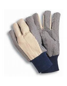 Town & Country Essentials - Canvas Grip Gloves Men's Size - L