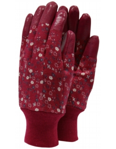 Town & Country Aqua Sure Ladies Gloves Aubergine Size - M