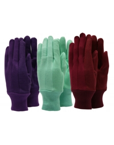 Town & Country Essentials - Jersey Extra Grip Gloves Ladies Size - M