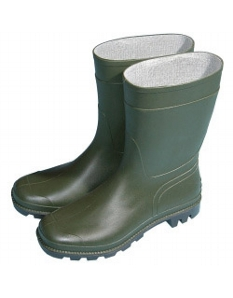 Town & Country Essentials Half Length Wellington Boots - Green UK Size 8 - Euro Size 42