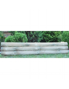 Apollo Horizontal Log Roll Panels 28 x 120cm