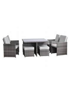 Pagoda Toulouse Deluxe Cube Set 9 Piece