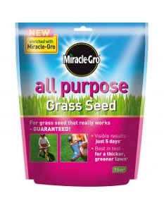 Miracle-Gro All Purpose Grass Seed 450g Pouch