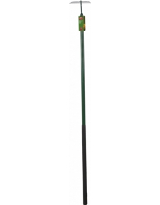 Ambassador Carbon Steel Draw Hoe Length: 142cm. Foam Handle Length: 61cm
