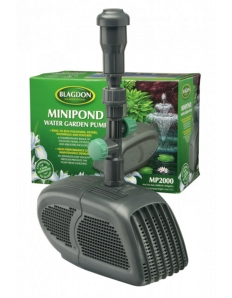Interpet Minipond Pump 2000 For Fountains, Filters, Waterfalls and Features