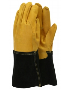Town & Country Professional - Heavy Duty Gauntlet Gloves Mens Size - L