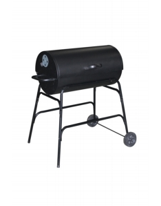 Pagoda Oil Drum BBQ With Cover 32