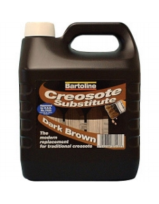 Bartoline Creocote Timber Treatment 4L Dark Brown