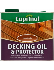 Cuprinol Decking Oil & Protector 2.5L Natural Oak