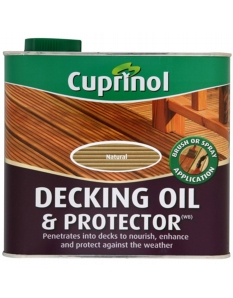 Cuprinol Decking Oil & Protector 2.5L Natural