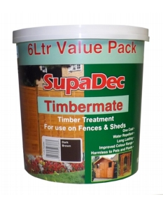 SupaDec Timbermate 5L Dark Brown