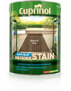 Cuprinol Anti Slip Decking Stain 5L Country Cedar
