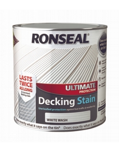 Ronseal Ultimate Protection Decking Stain 2.5L White Wash