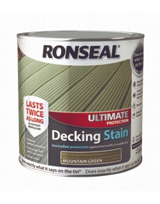 Ronseal Ultimate Protection Decking Stain 2.5L Mountain Green
