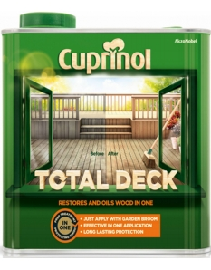 Cuprinol Total Deck Restorer & Oil 2.5L Clear