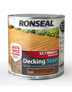 Ronseal Ultimate Protection Decking Stain 2.5L Rich Teak